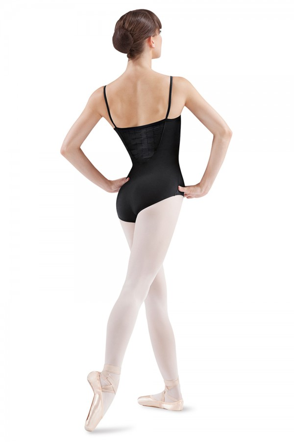 image - Pin Tuck Front Camisole Women's Dance Leotards