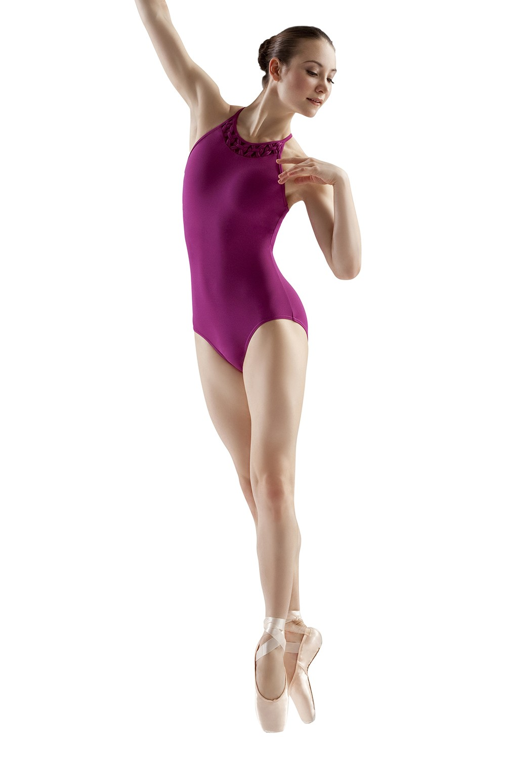 Rouleaux High Neck Leo Women's Dance Leotards