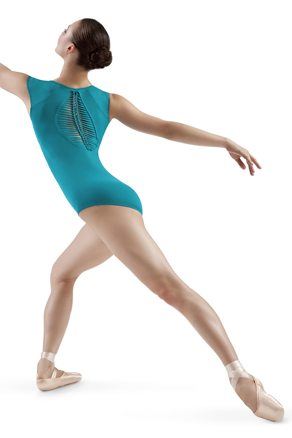 Spliced Oval Back Leo Women's Dance Leotards