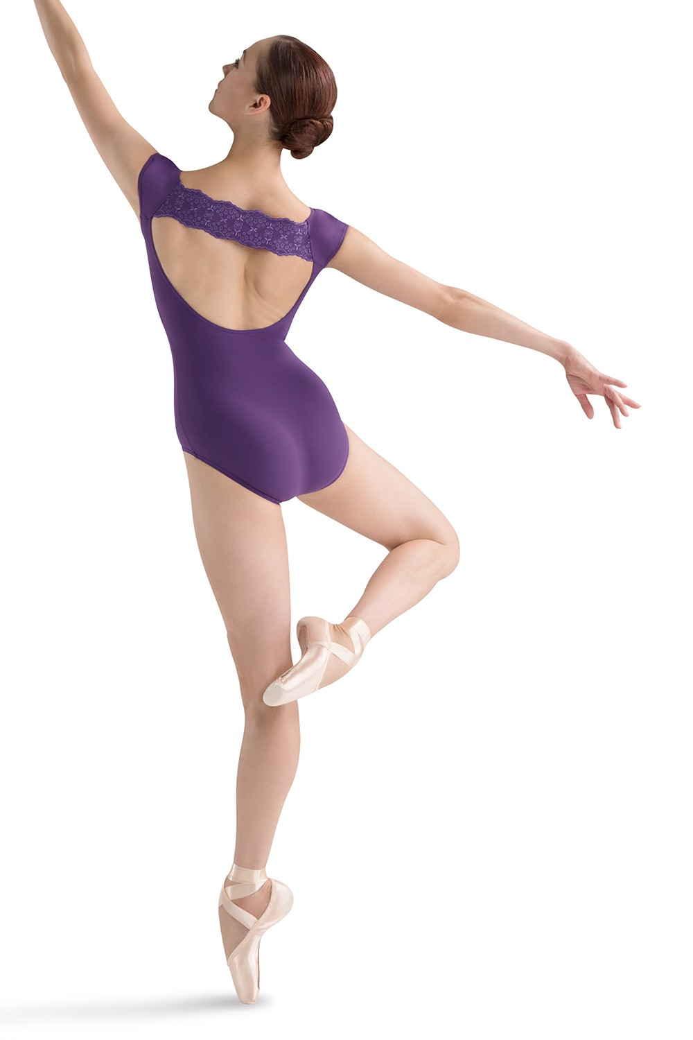 Back Band Cap Sleeve Women's Dance Leotards