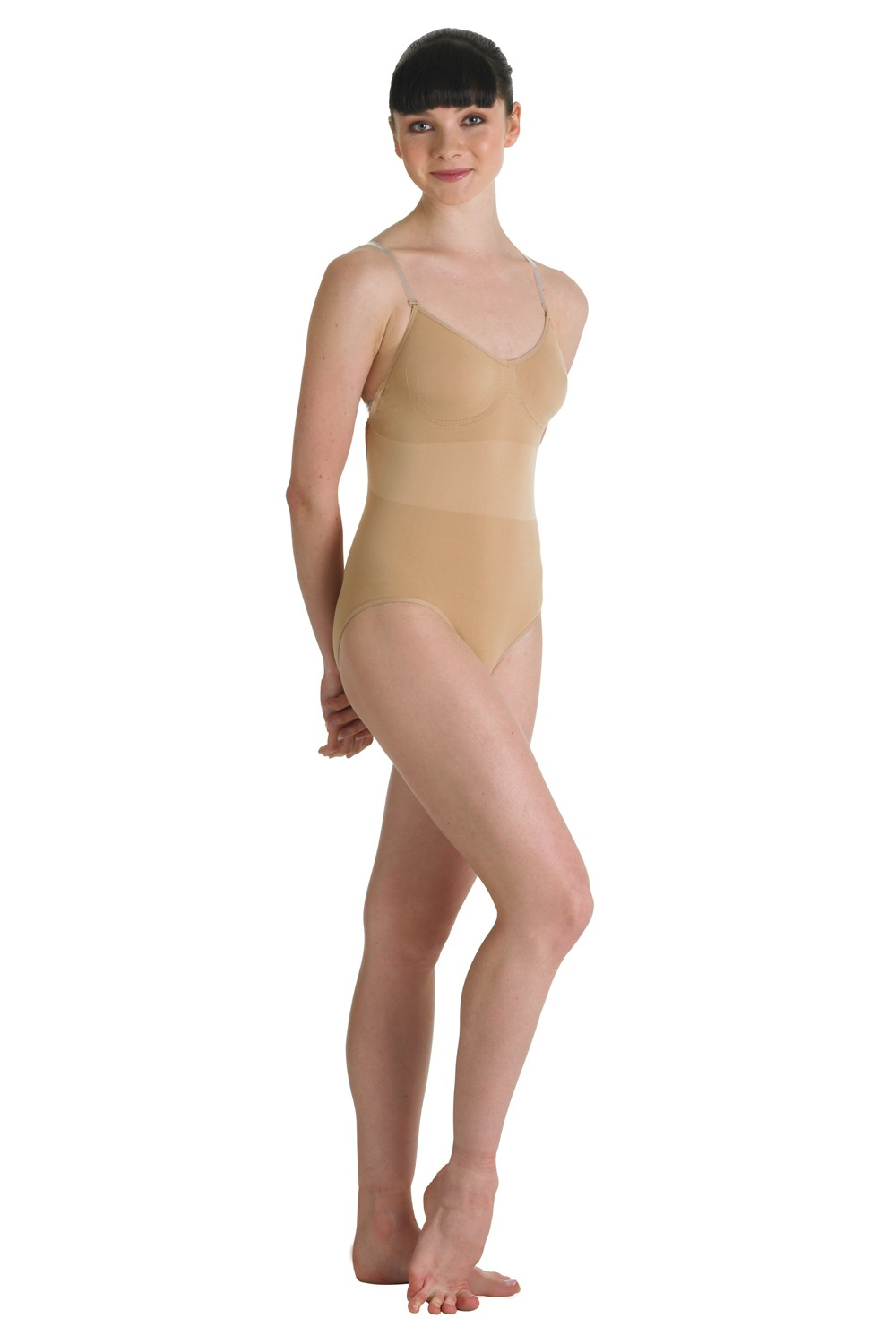 Pisces Seamless Thong Body Suit Women's Dance Underwear