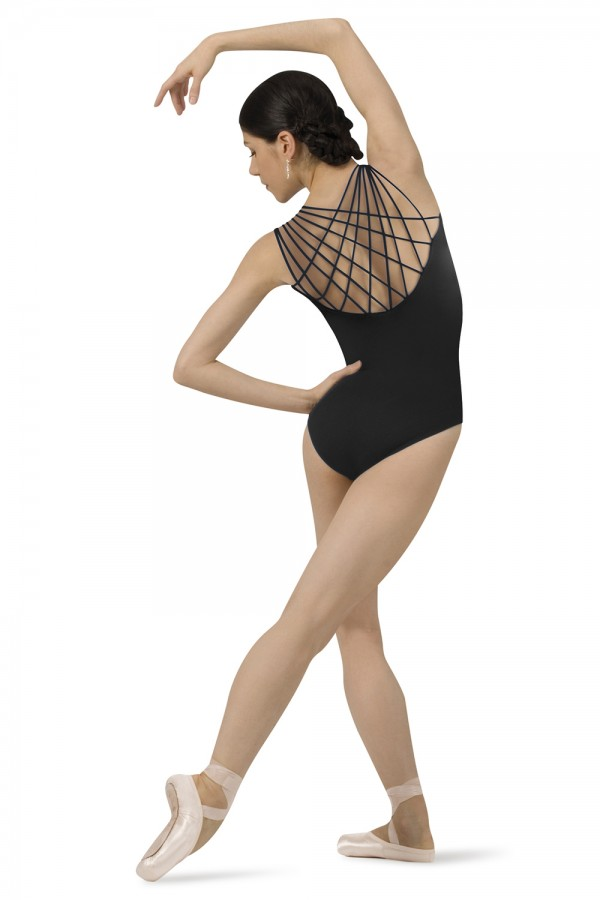 image - Rouleaux Back Leotard Women's Dance Leotards