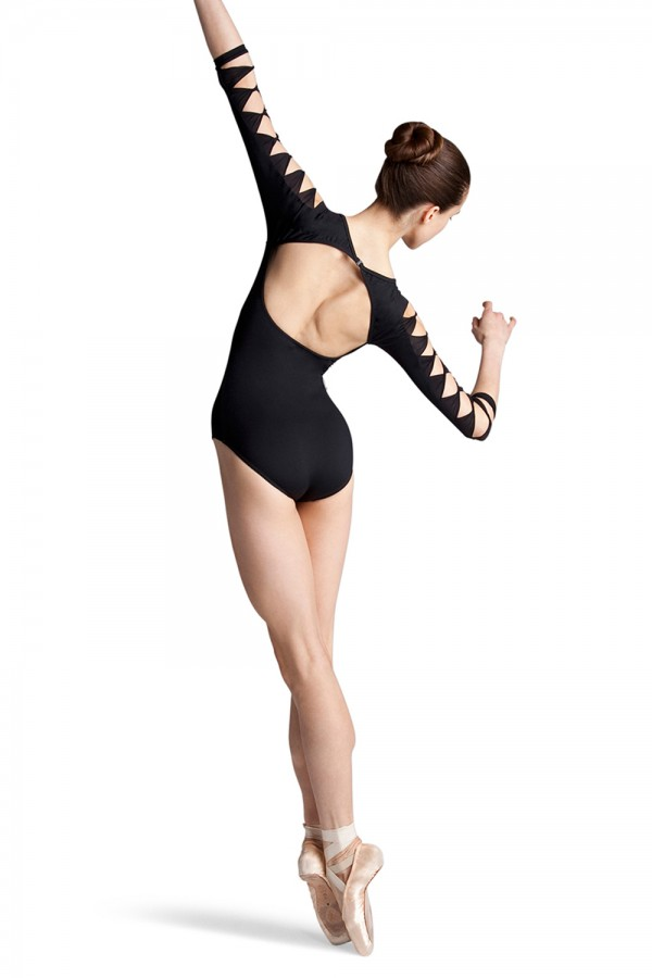 image - Macie 3/4 Sleeve Leotard Women's Dance Leotards