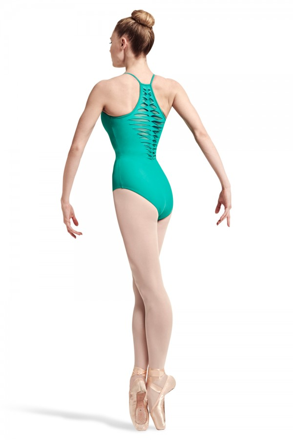 image - Iser Spliced Twist Racer Back Camisole Leotard Women's Dance Leotards
