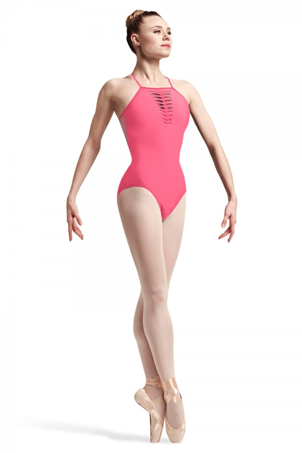 image - Leah Spliced Twist Bust Camisole Leotard Women's Dance Leotards