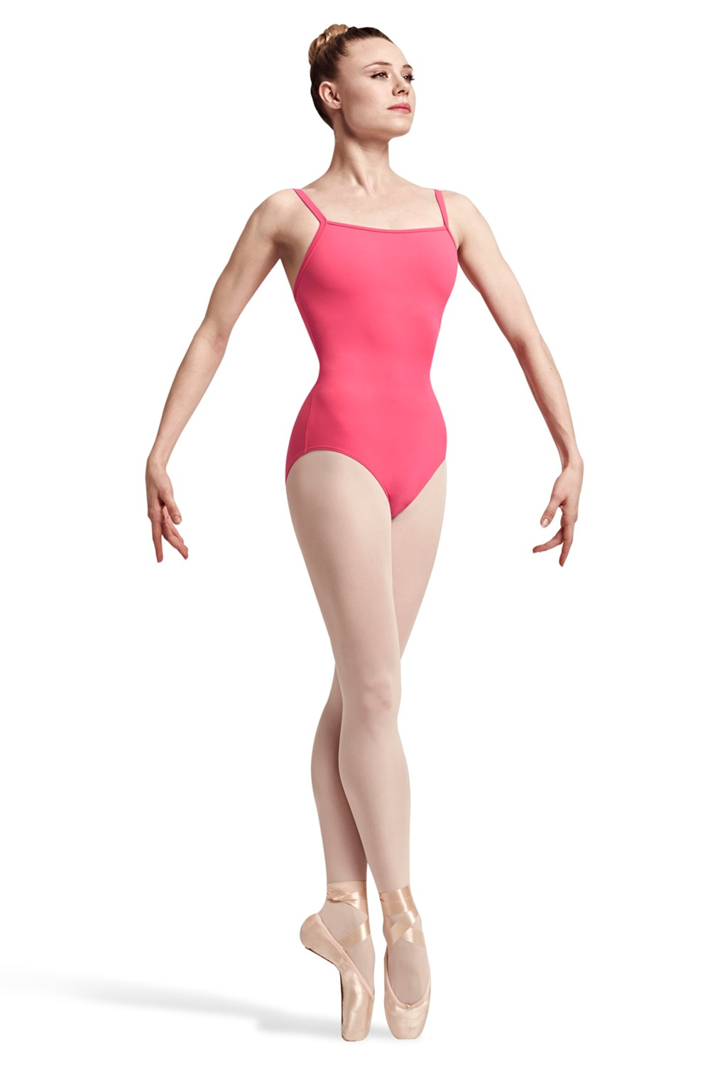 Jaron Spliced Twist Back Camisole Leotard Women's Dance Leotards