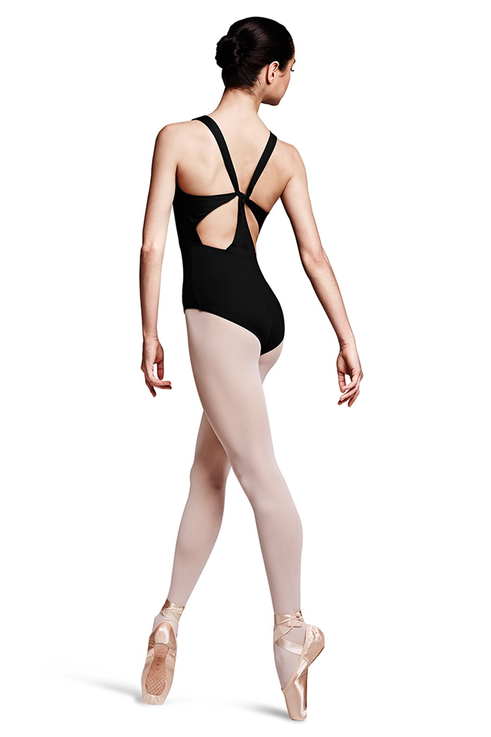 Zusa Racer Tab Back Tank Leotard Women's Dance Leotards