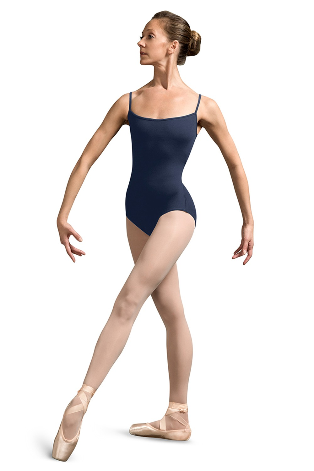 Back Mesh Panel Camisole Leotard Women's Dance Leotards