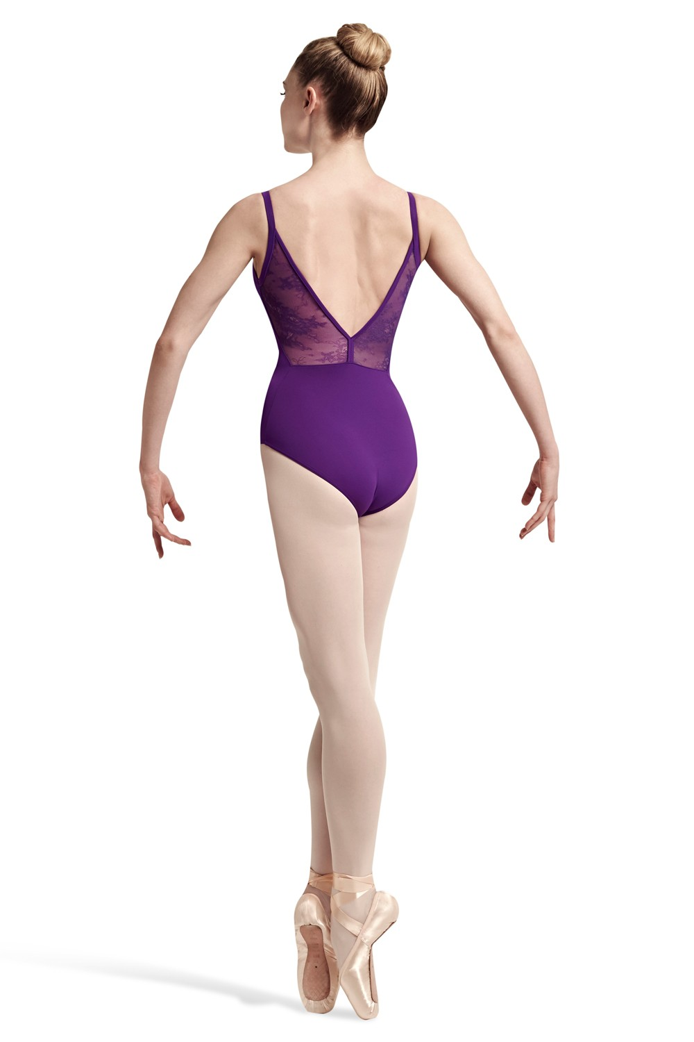 Shaped Back Wide Strp Women's Dance Leotards