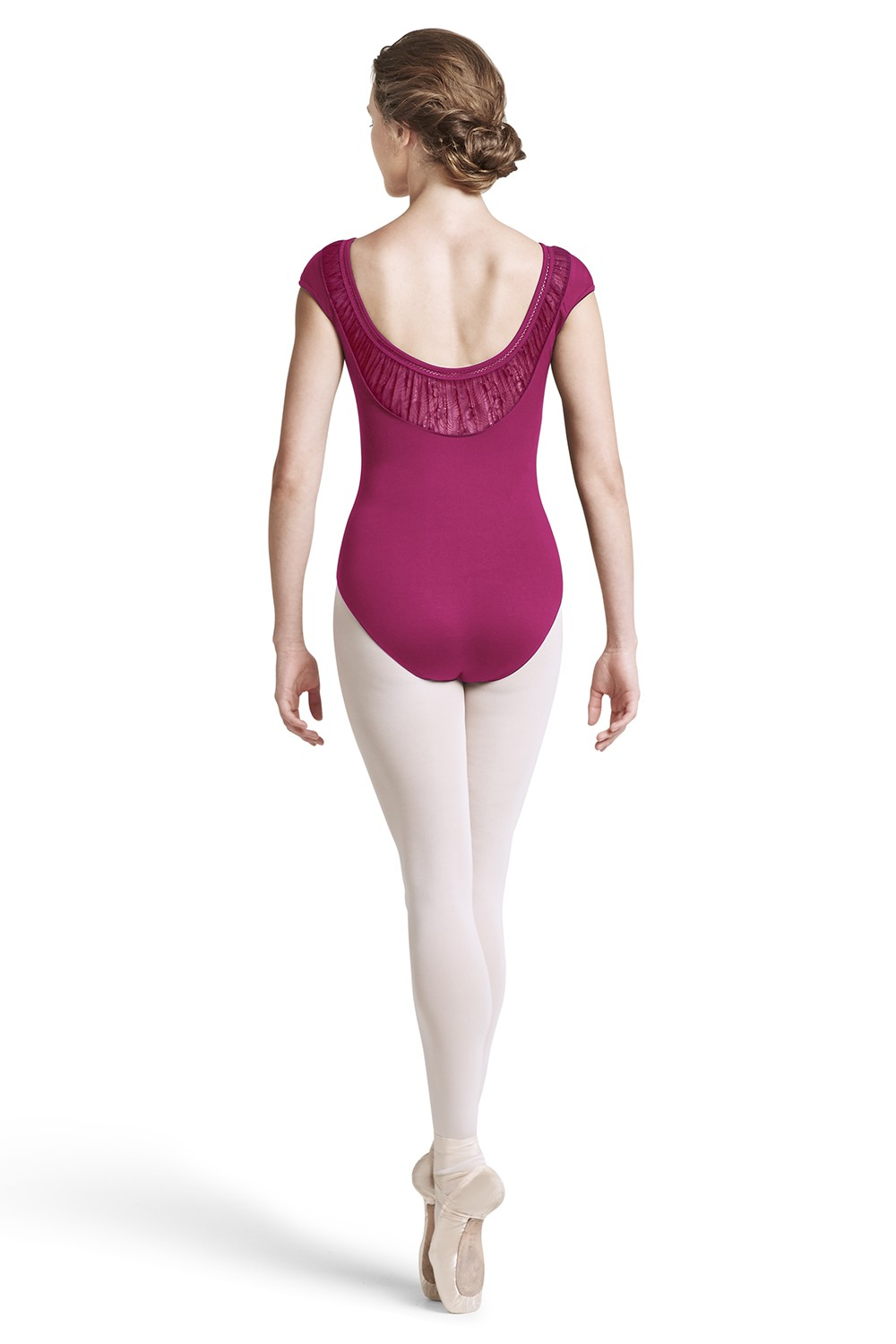 Damini Womens Short Sleeve Leotards