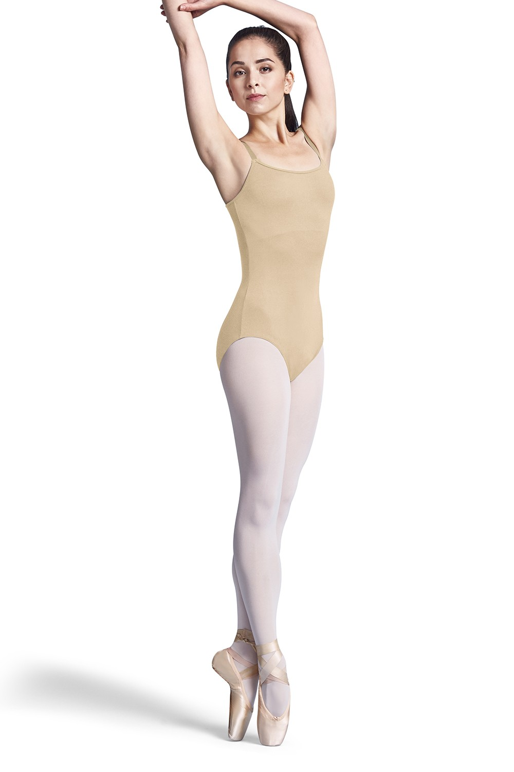 Nylon Adj Strap Leotard With Bra Women's Dance Leotards