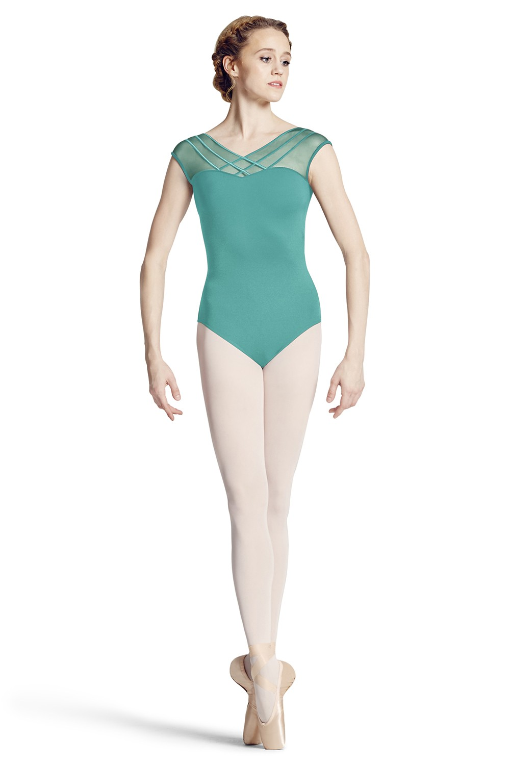 Vee Back Cap Sleeve Leotard Women's Dance Leotards