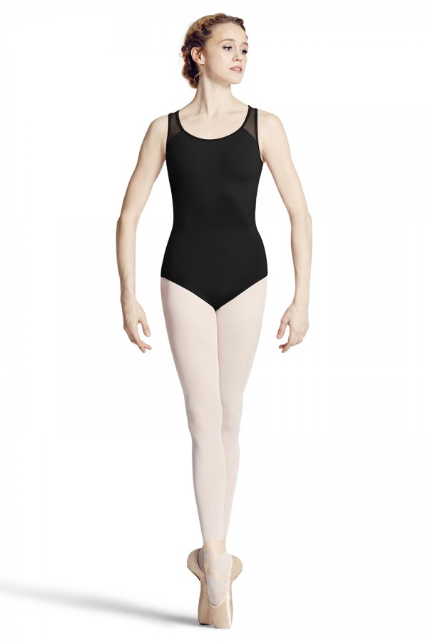 image - Tape Back Tank Leotard Women's Dance Leotards