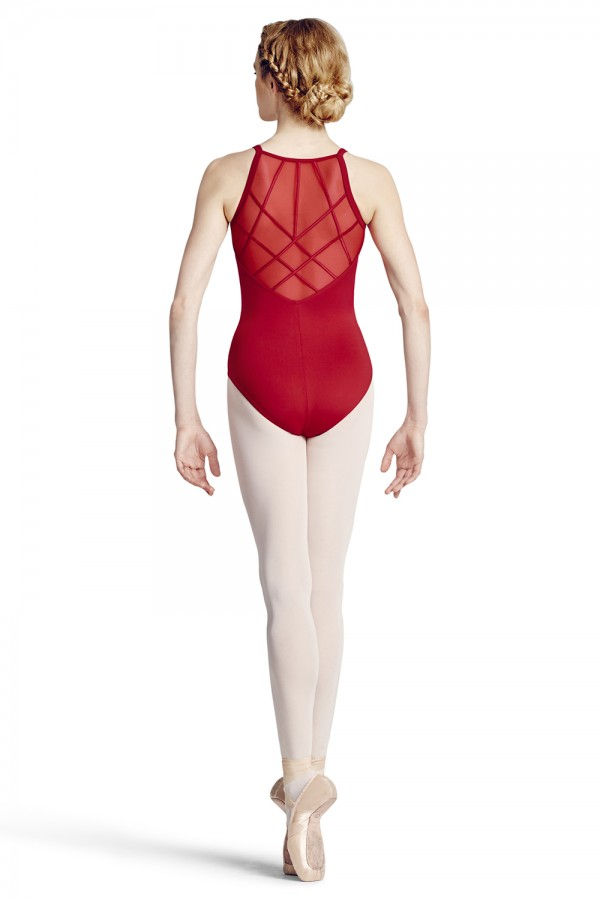image - Wide Strap Camisole Leotard Women's Dance Leotards