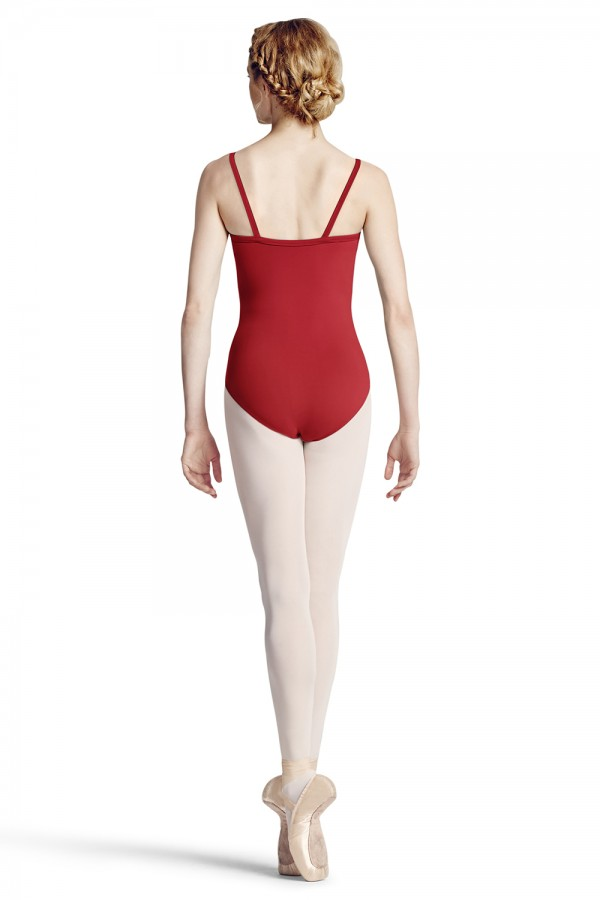 image - Mock Wrap Camisole Leotard Women's Dance Leotards