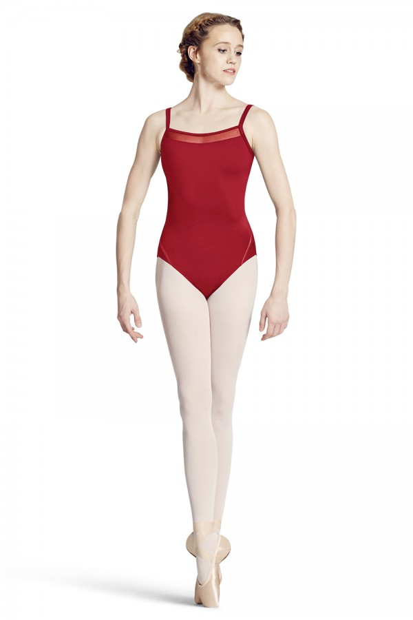 image - Front Yoke Camisole Leotard Women's Dance Leotards