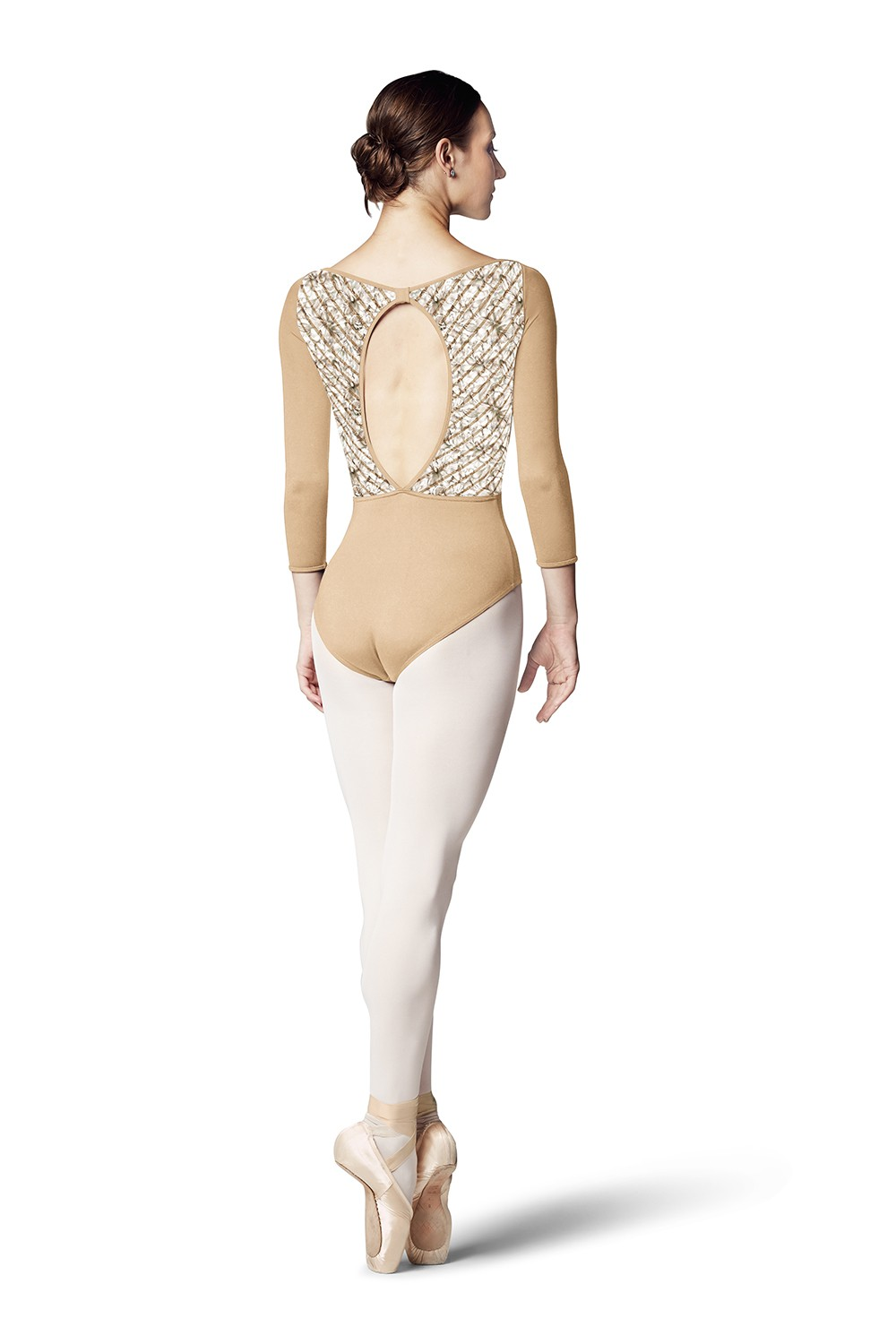 Candace Womens Long Sleeve Leotards