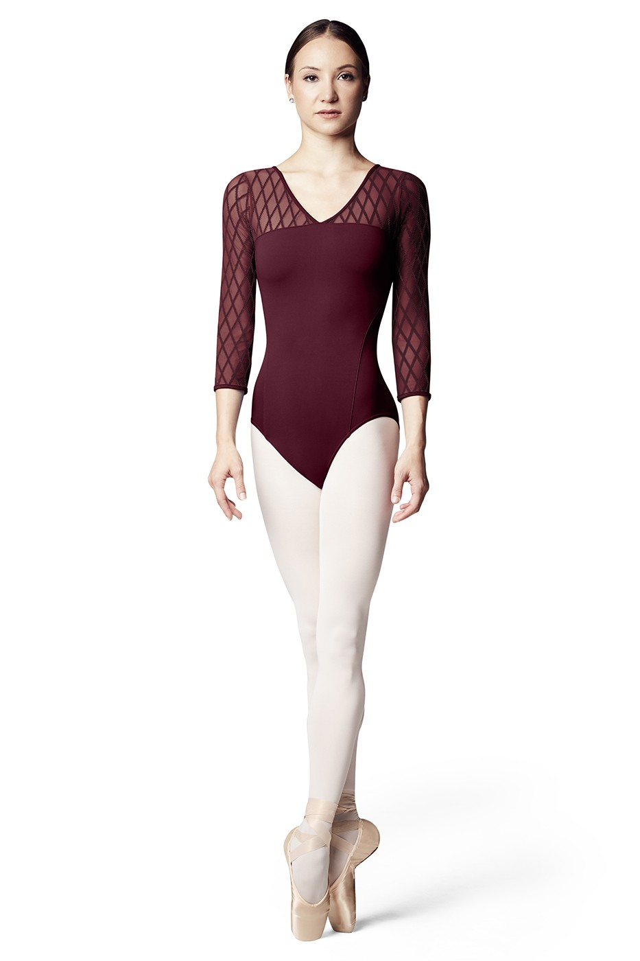 Lila Womens Long Sleeve Leotards