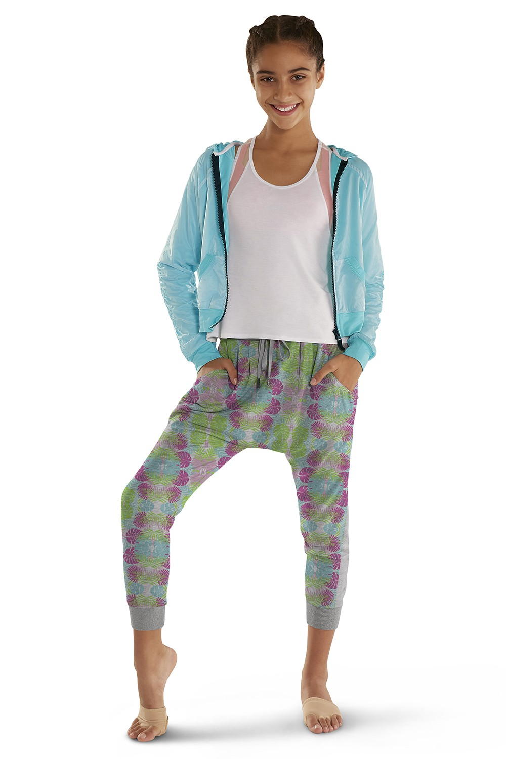 Printed Full Length Harem Pant Children's Bottoms