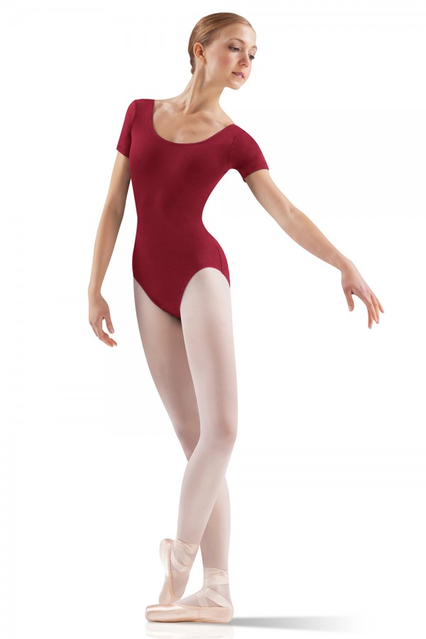 image - Core Short Sleeve Leotard Women's Dance Leotards