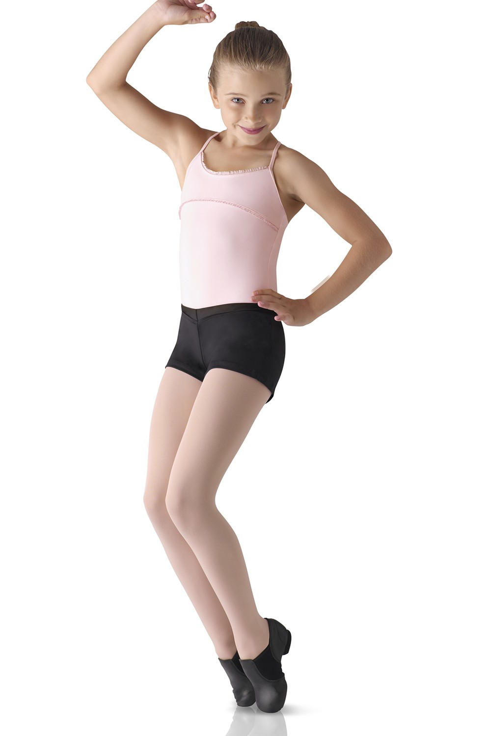 V-front Boy Cut Shorts Children's Dance Shorts