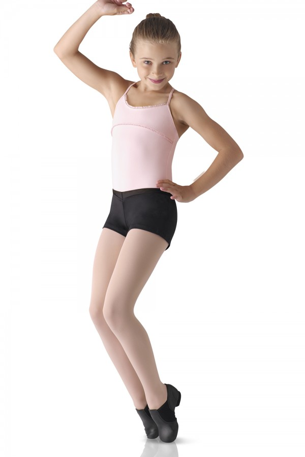 image - V-Front Boy Cut Shorts Children's Dance Shorts
