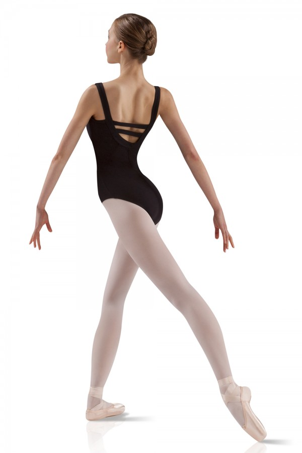 image - Wide Strap Leotard Women's Dance Leotards