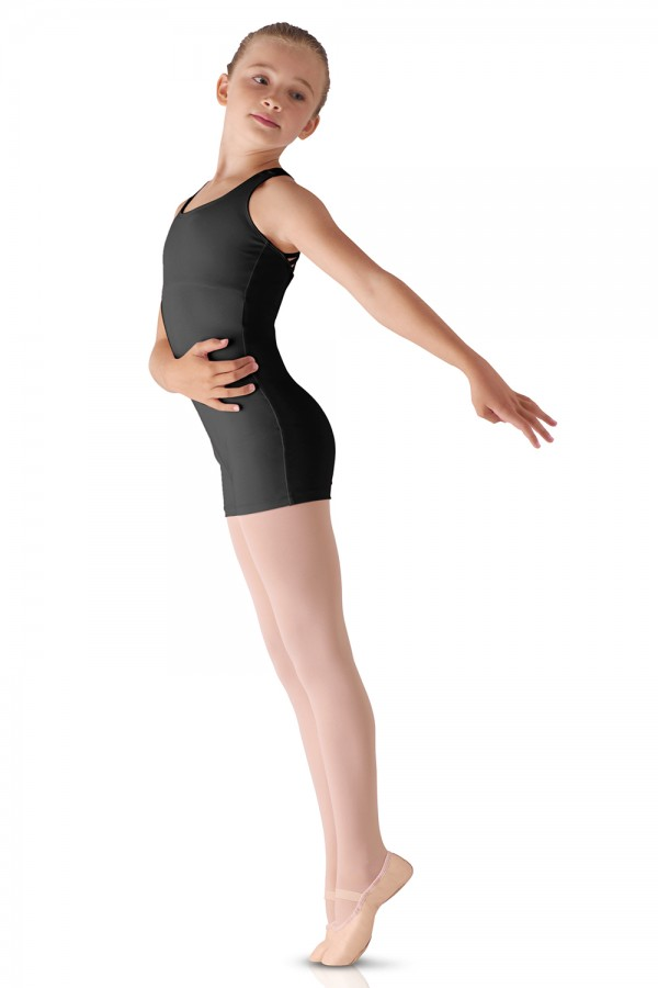 image - Strap Back Unitard Children's Dance Leotards