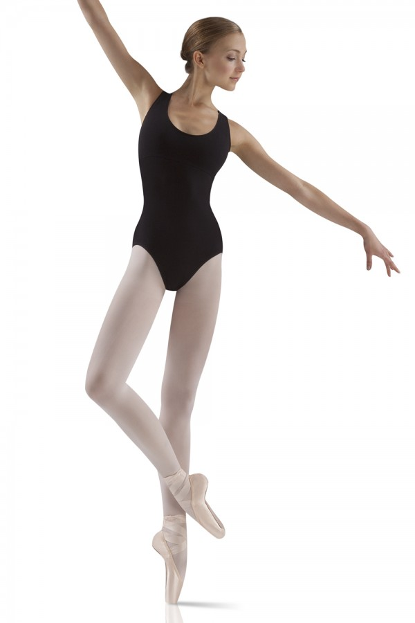 image - Cut Out Back Leotard Women's Dance Leotards