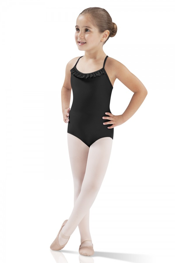 image - Ruffled Camisole Leotard Children's Dance Leotards