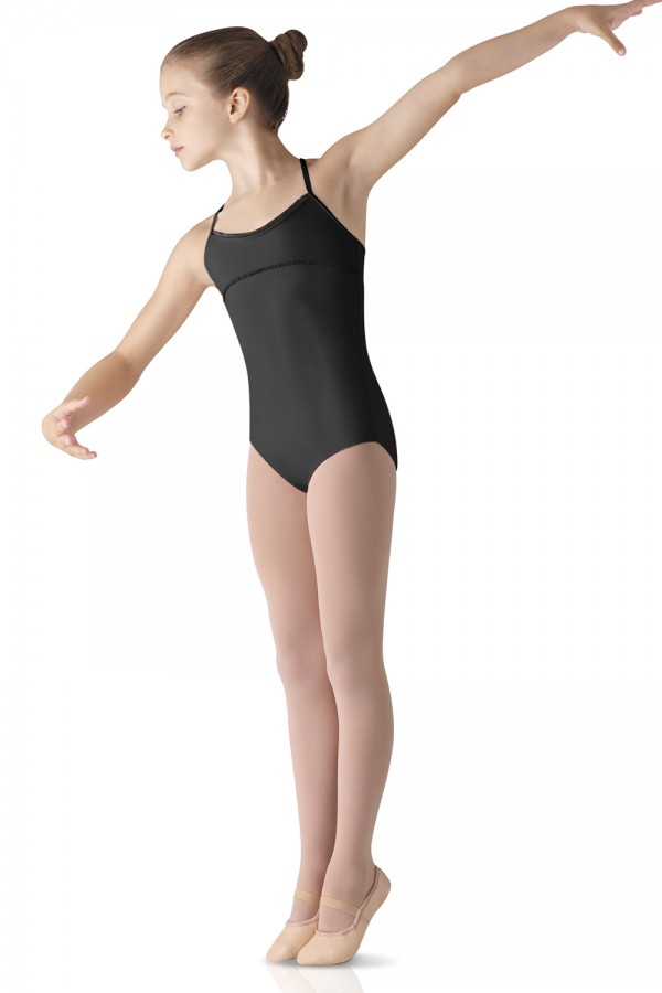 image - Trimmed Camisole Leotard Children's Dance Leotards
