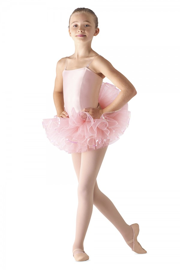 image - Sequin Trim Tutu Children's Dance Skirts