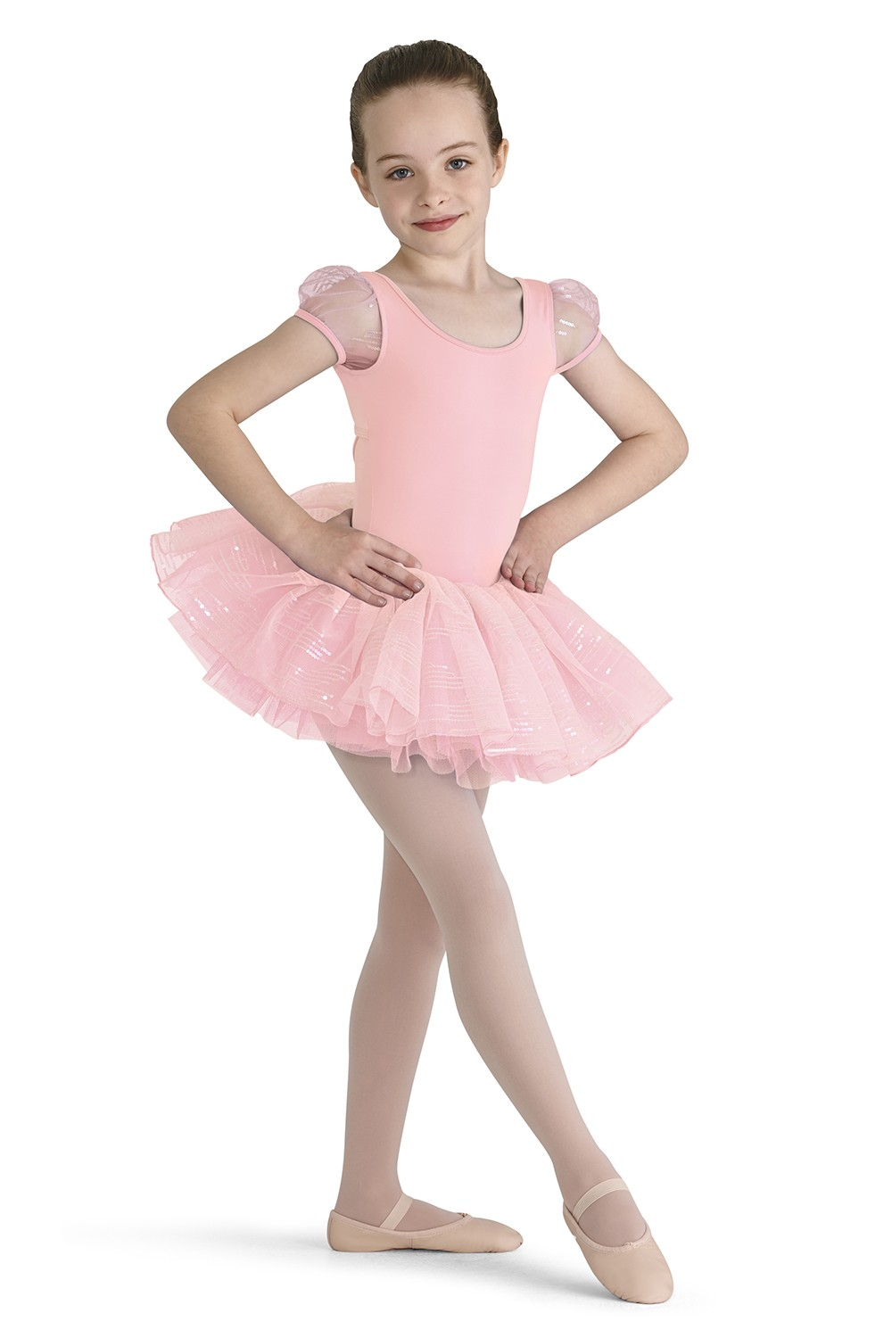 Sequin Tutu Skirt Children's Dance Leotards