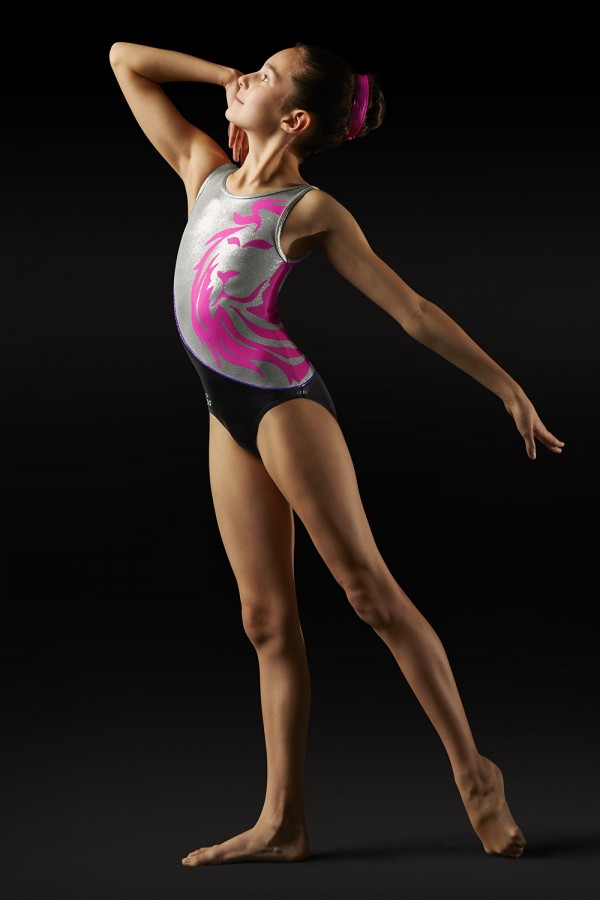 image - Leo Lion Tank Girl's Gymnastics Leotards