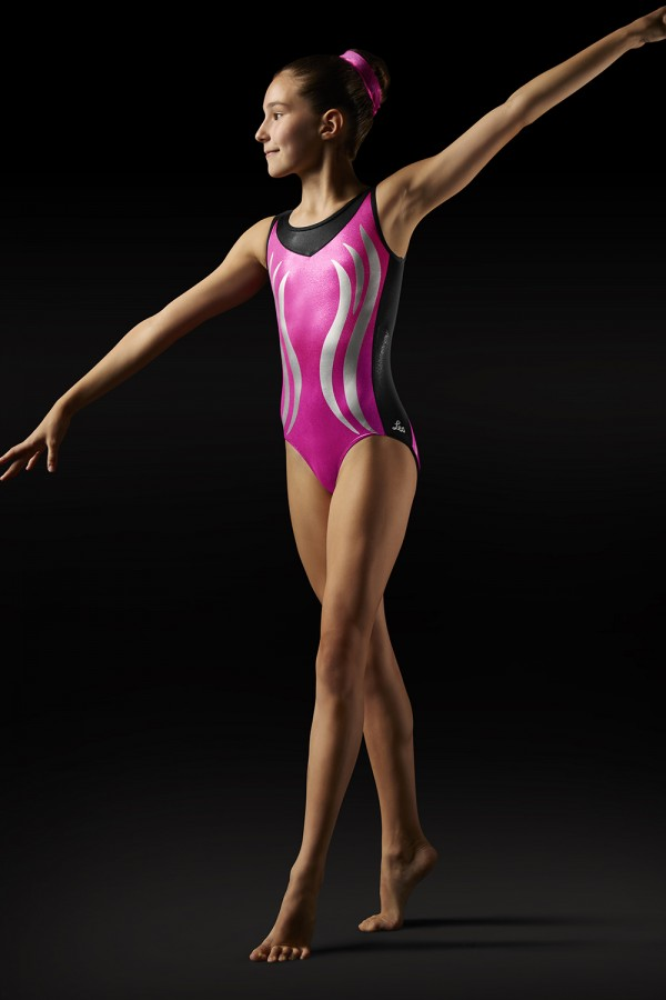 image - Flame Tank Leotard Women's Gymnastics Leotards