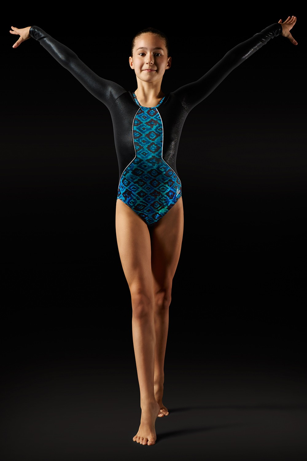 Aztec Print Leotard Girl's Gymnastics Leotards