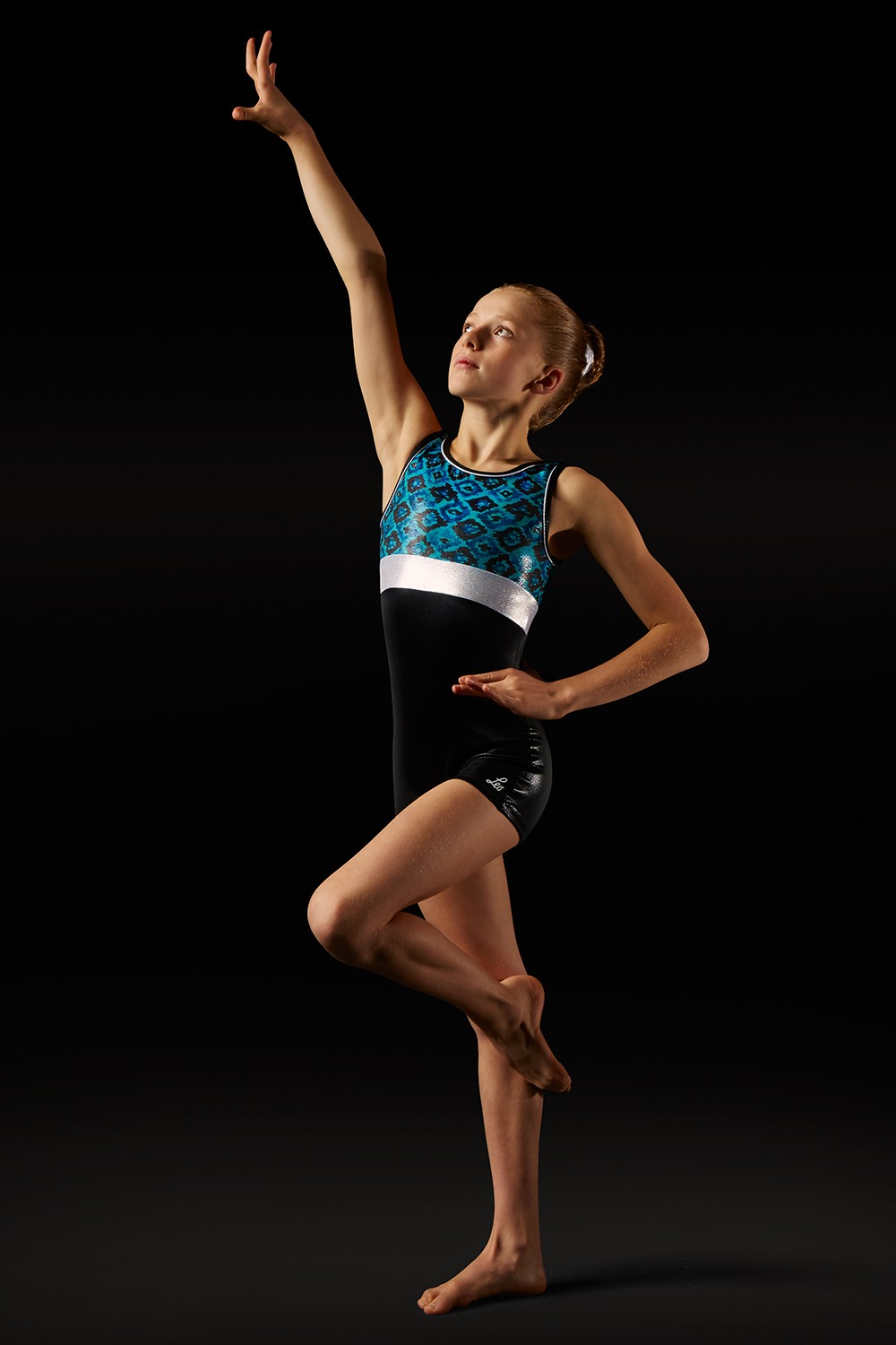 Aztec Print Unitard - Girls Girl's Gymnastics Unitards