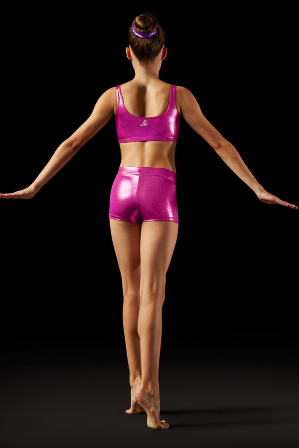 image - Foil V-front Short - Girls Girls's Gymnastics Shorts