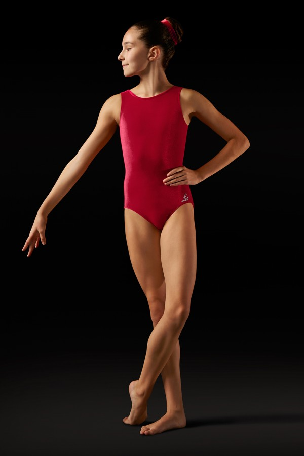 image - Velvet Tank Leotard Women's Gymnastics Leotards