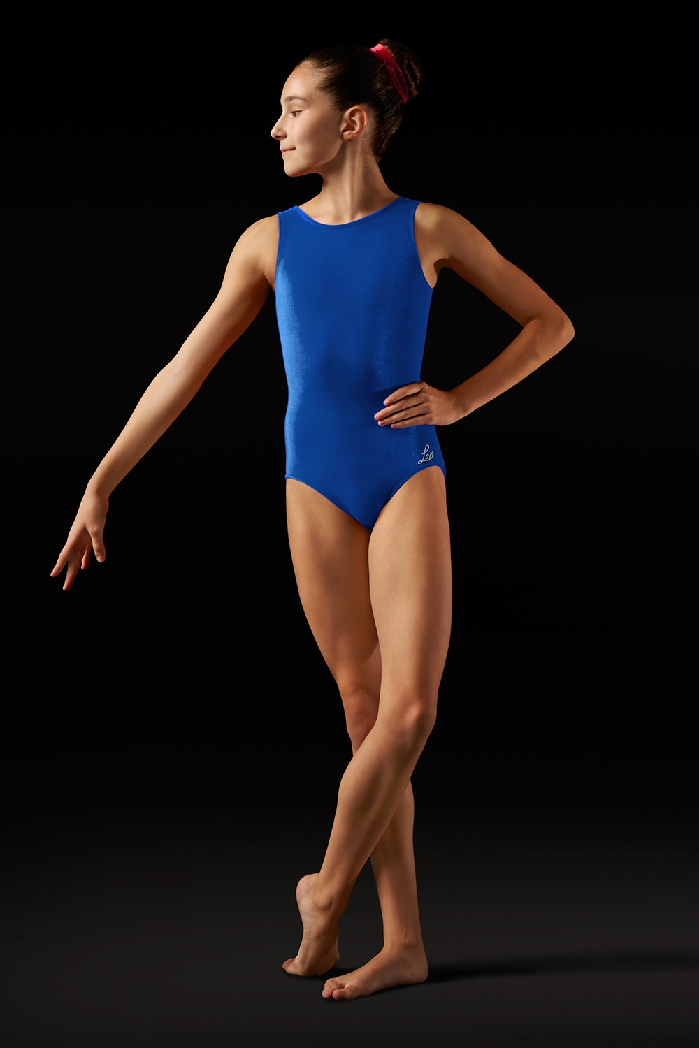 Body In Velluto Con Spalline Larghe Women's Gymnastics Leotards