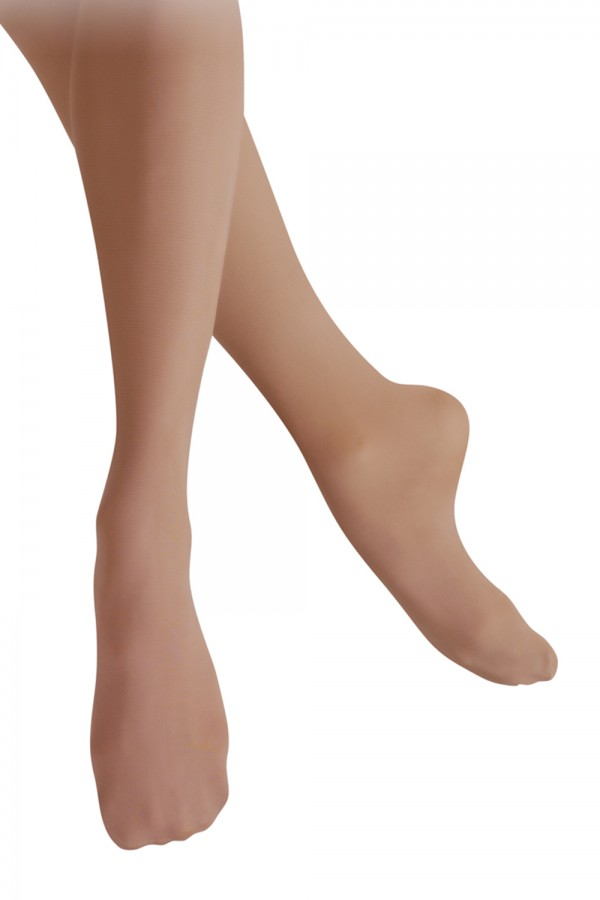 image - Girl's Shimmer Footed Tight Children's Dance Tights
