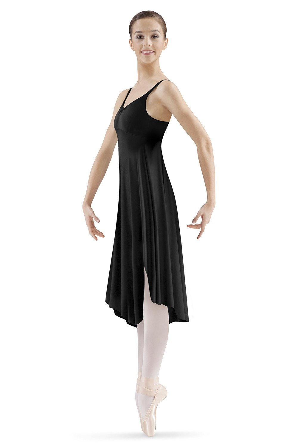 Asymmetrical Hem Tank Dress Women's Dance Skirts