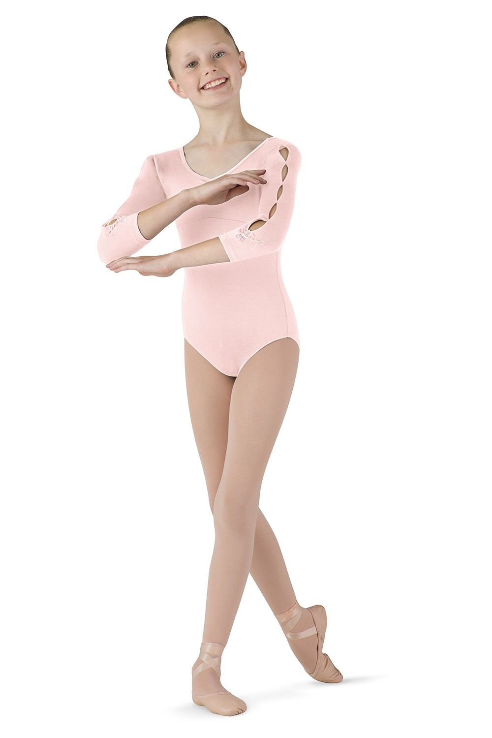 Dragonfly 3/4 Sleeve Leotard Children's Dance Leotards