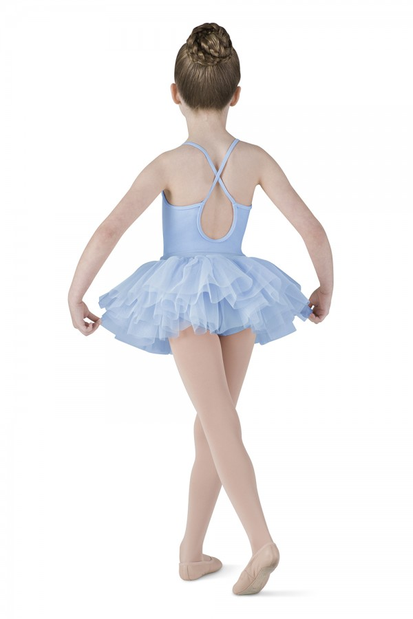 image - Diamante Tutu Dress Children's Dance Leotards