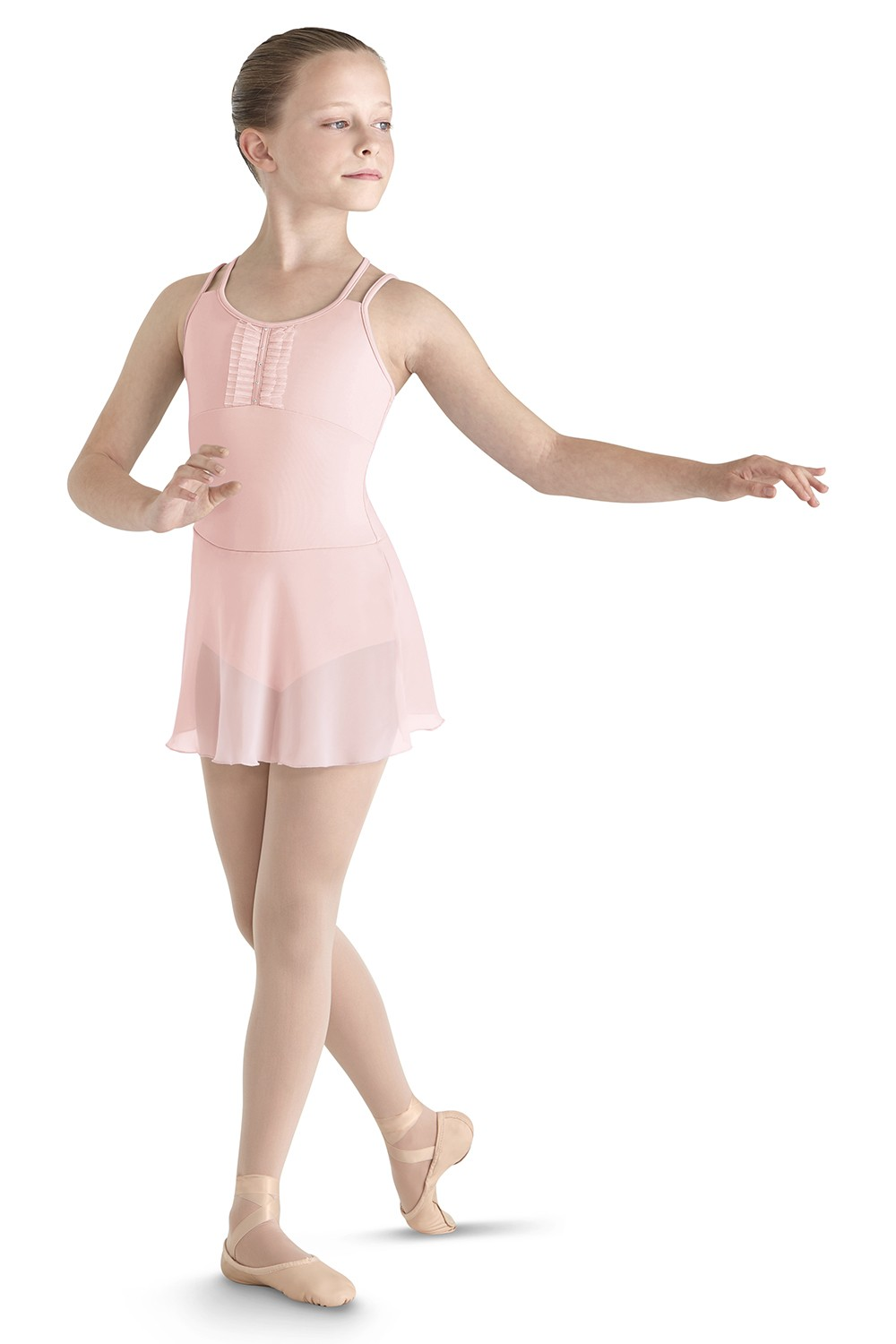 Justaucorps À Bretelles Avec Jupe Girls Skirted Leotards