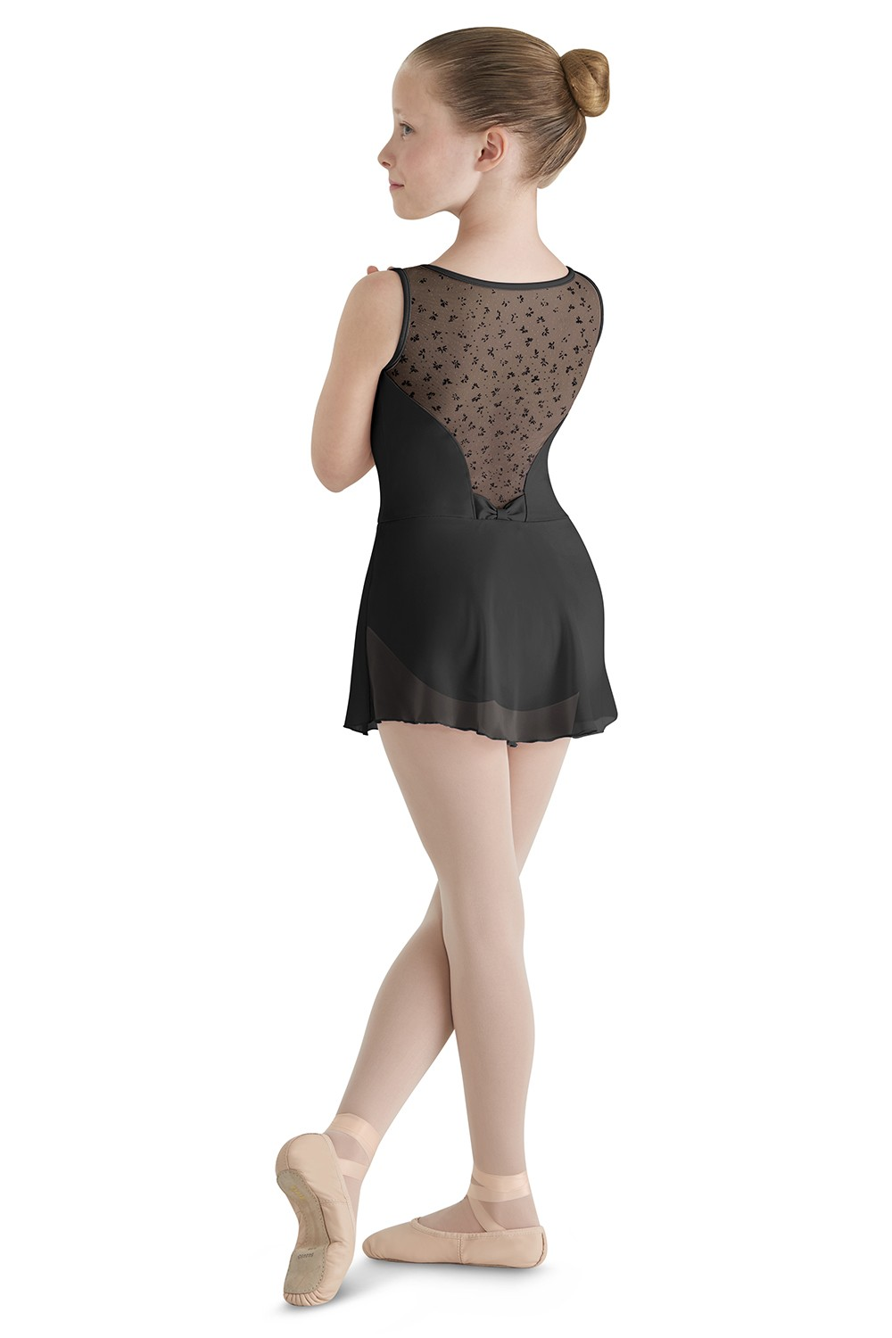Bow Skirted Tank Leo Children's Dance Leotards