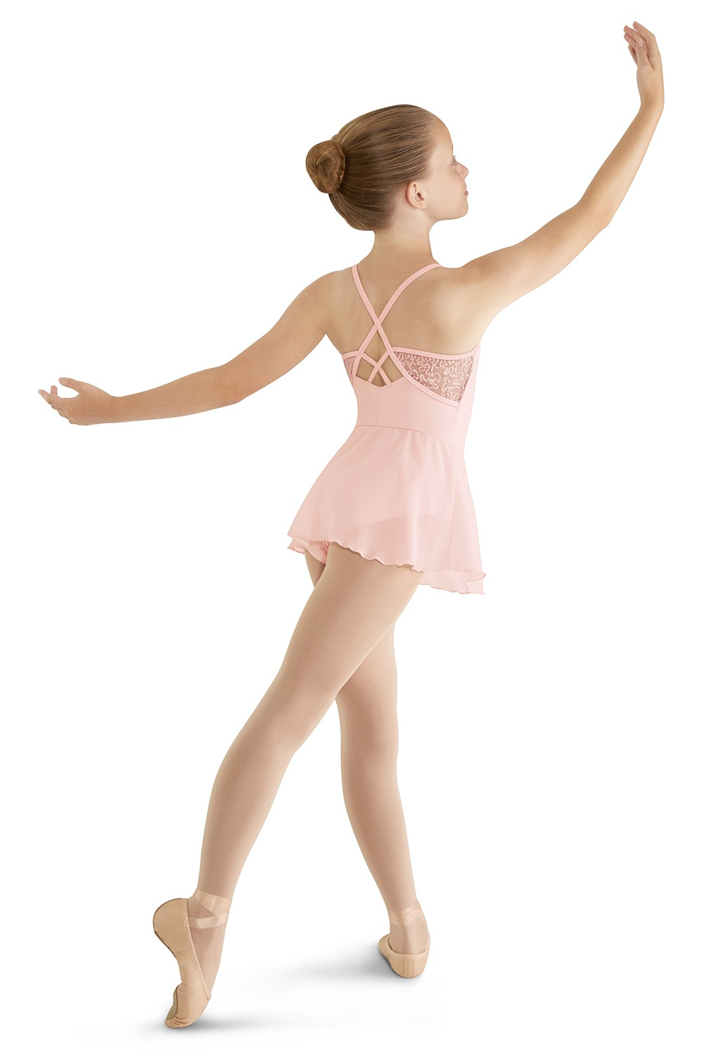 X-back Skirted Camisole Children's Dance Leotards