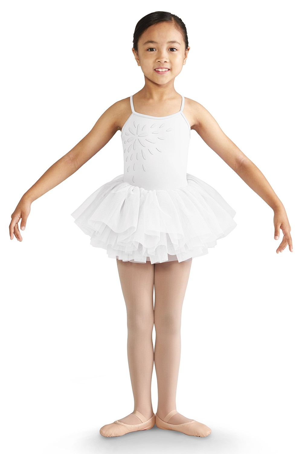 Scoop Back Camisole Tutu Dress Children's Dance Leotards