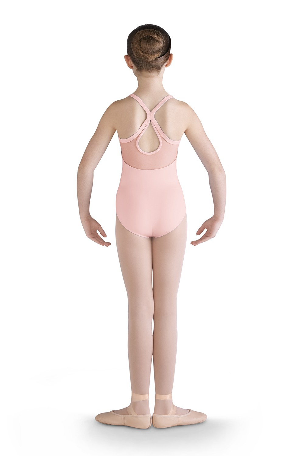 Mesh Front Camisole Leotard Girls Tank Leotards