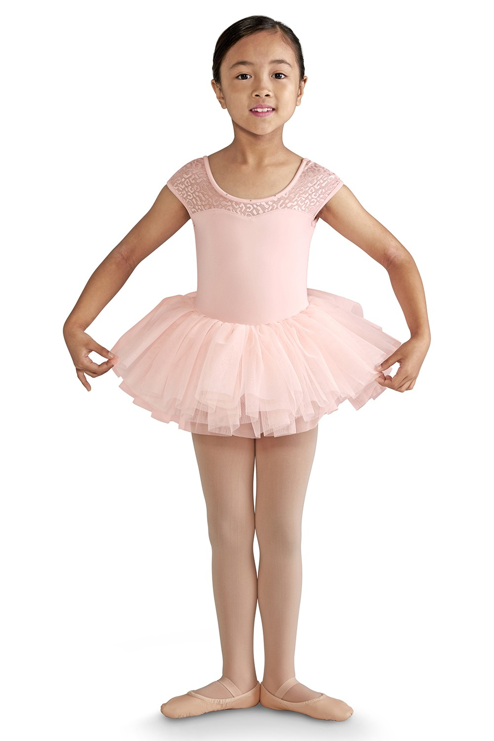 Cap Sleeve Tutu Leotard Girls Skirted Leotards